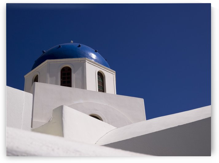 Greek Architecture, Santorini, Greece by PacificStock