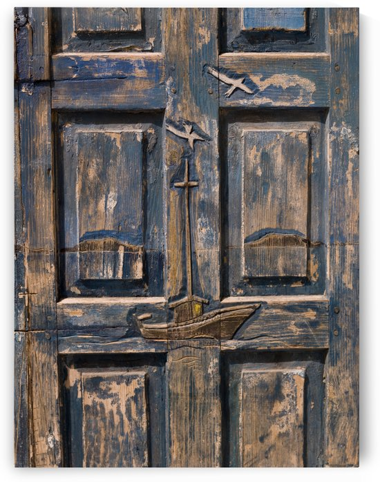 Wooden Door by PacificStock