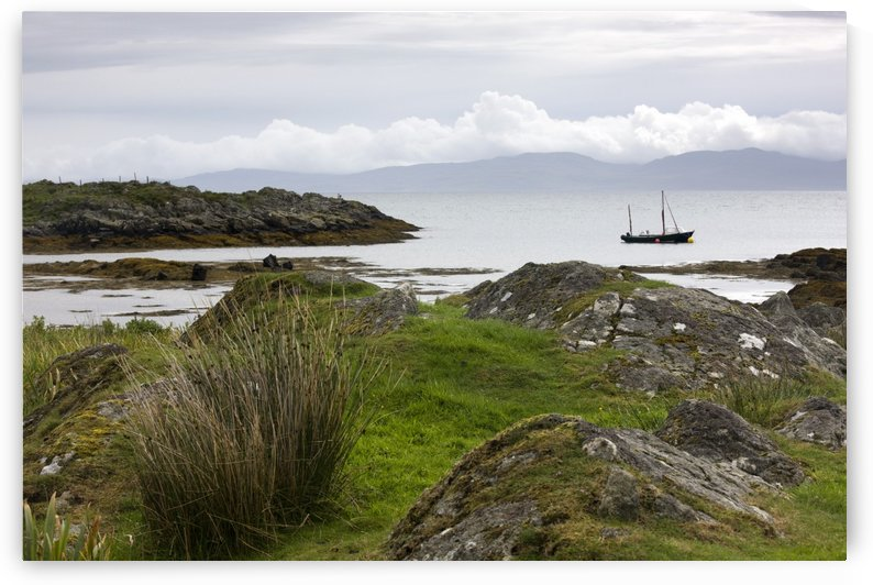 Boat, Scotland by PacificStock