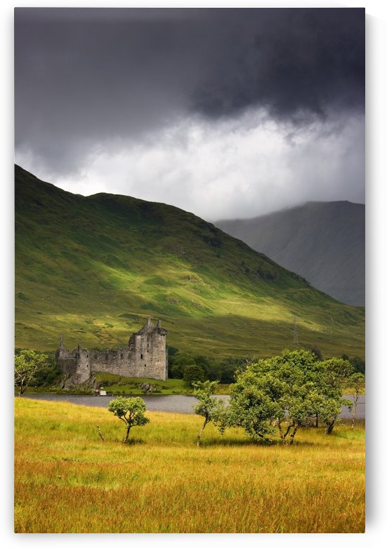 Hillside Building, Scotland by PacificStock