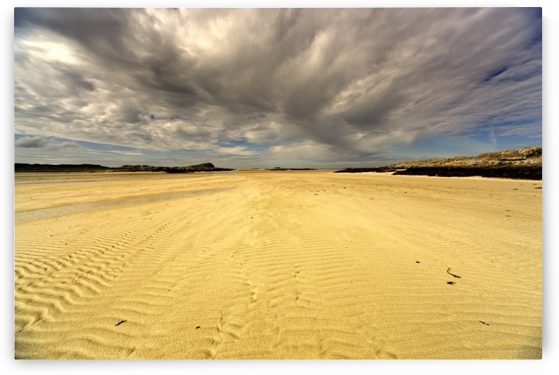 Sandy Beach, Scotland by PacificStock