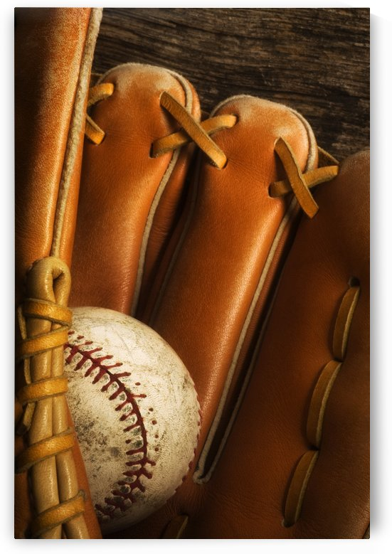 Baseball Glove And Baseball by PacificStock