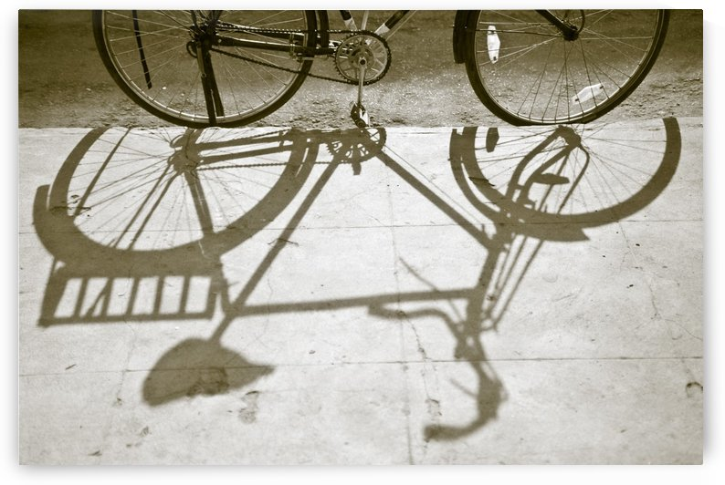 Bicycle Shadow by PacificStock