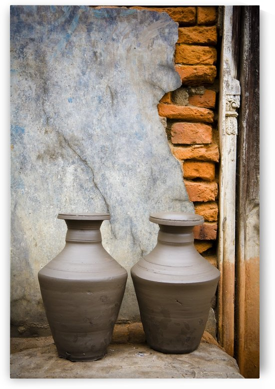 Pottery, Bhaktapur, Nepal by PacificStock
