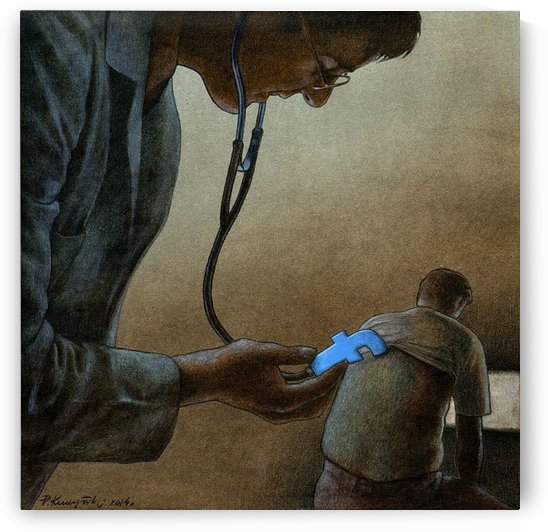 Facebook check by Pawel Kuczynski