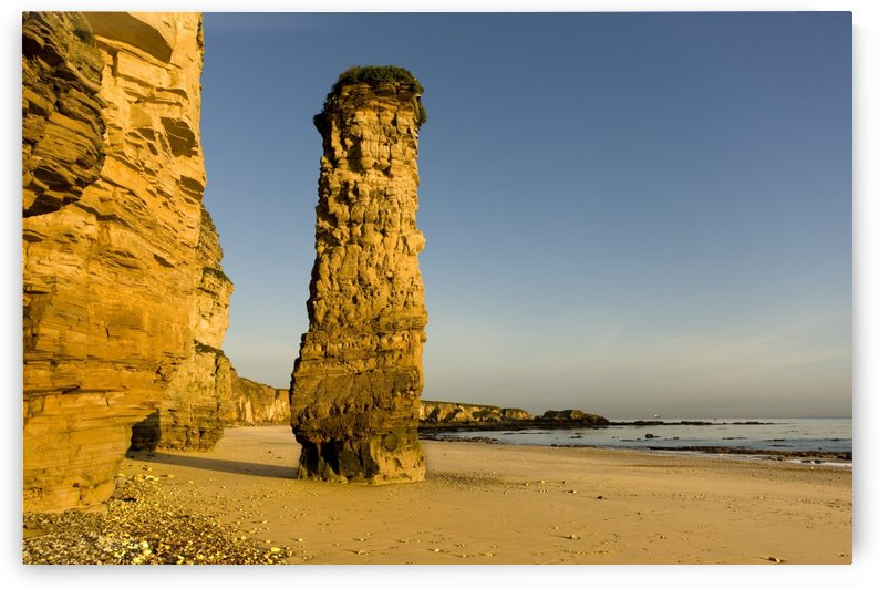 Lot's Wife Rock Formation, South Shields, Tyne And Wear, England by PacificStock