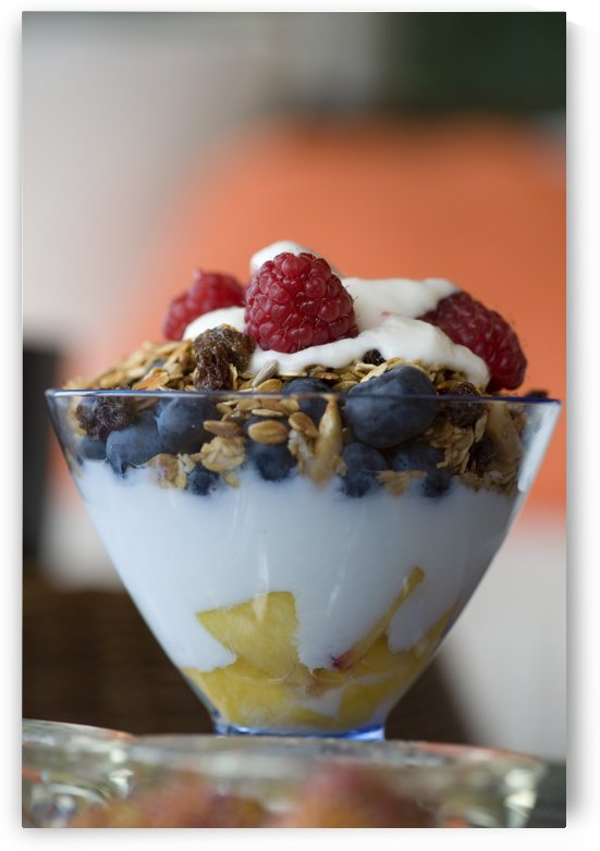 Fruit And Granola In Yogurt by PacificStock
