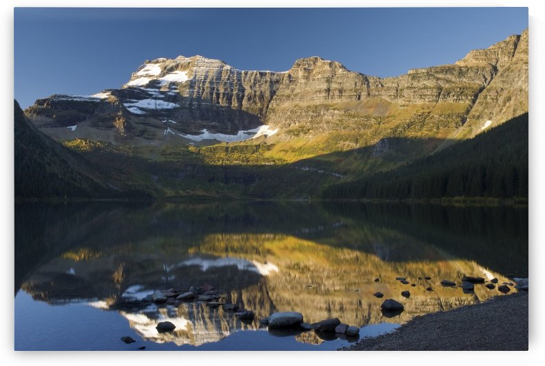 Cameron Lake, Waterton, Alberta, Canada by PacificStock