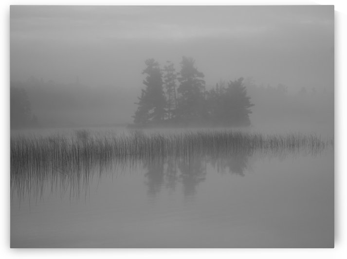 Lake Of The Woods, Ontario, Canada; Mist Rises Over Lake by PacificStock