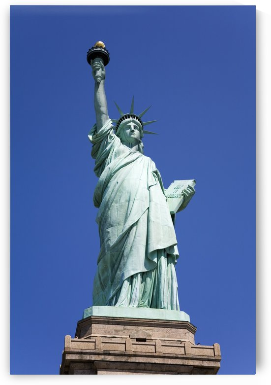 Statue Of Liberty, Lower Manhattan, New York City, New York, Usa by PacificStock