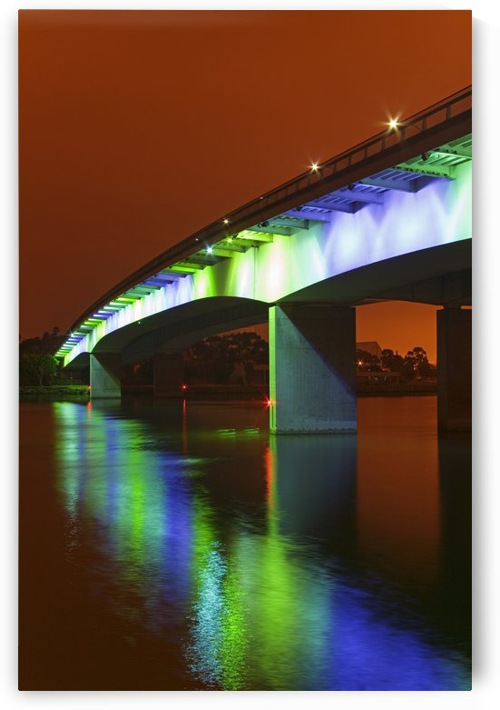 Queensway Bridge, California, Usa by PacificStock