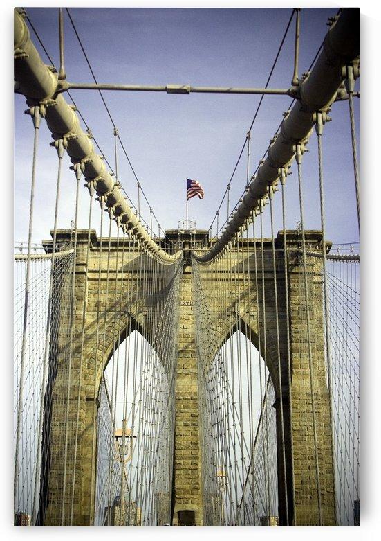 Brooklyn Bridge, Manhattan, New York, Usa by PacificStock