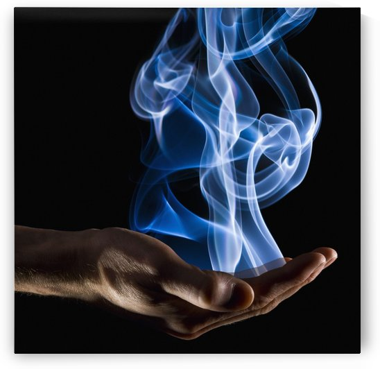 Smoke Wisps From A Hand by PacificStock