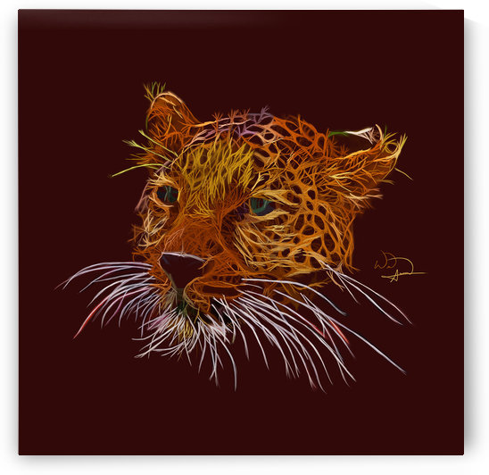 Leopard Abstracto by Tazmatic