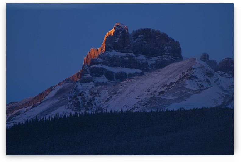 Mount Hector, Banff National Park, Alberta, Canada by PacificStock