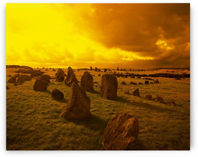 Beaghmore Stone Circles; Co Tyrone, Ireland by PacificStock