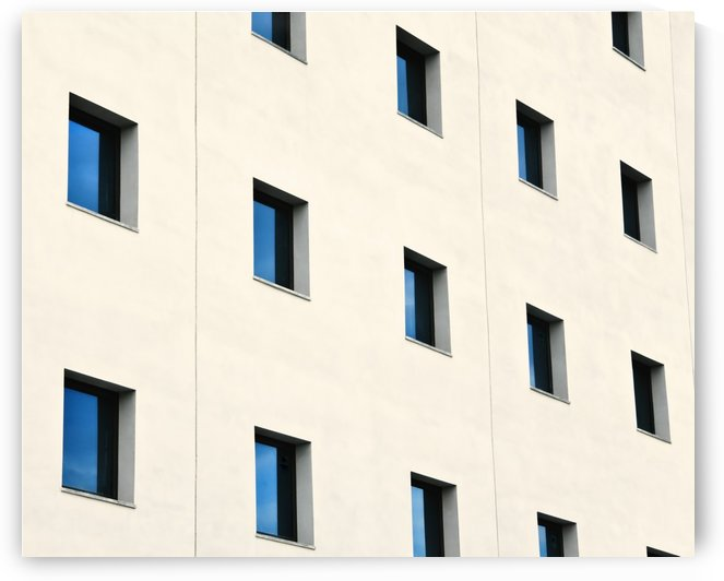Windows In An Office Building by PacificStock