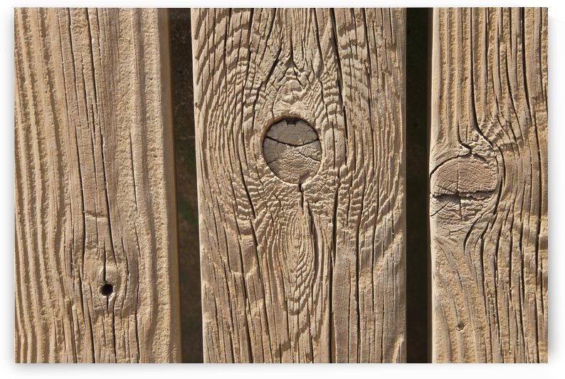 Knots In Planks Of Wood by PacificStock