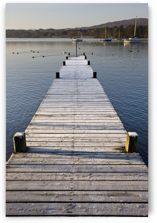 A Dock In The Lake, Cumbria, England by PacificStock