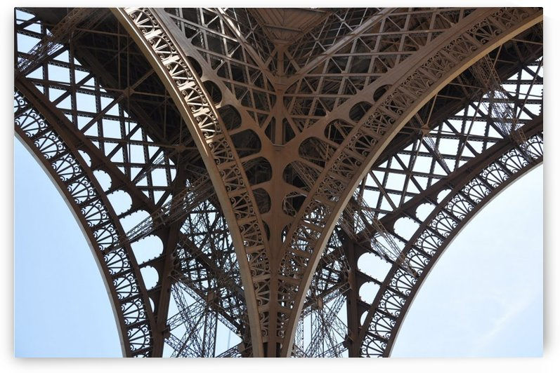 eiffel structure by StockPhotography