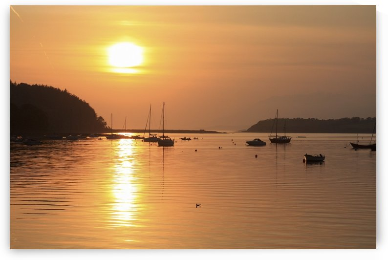 Bantry Bay, Bantry, Co Cork, Ireland; Sunset Over Harbour by PacificStock