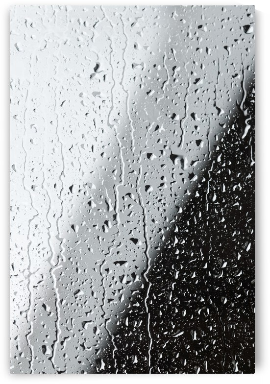 Water Drops On A Window by PacificStock