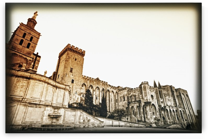 Avignon, Provence, France; Pope's Palace (Palais Des Papes) by PacificStock
