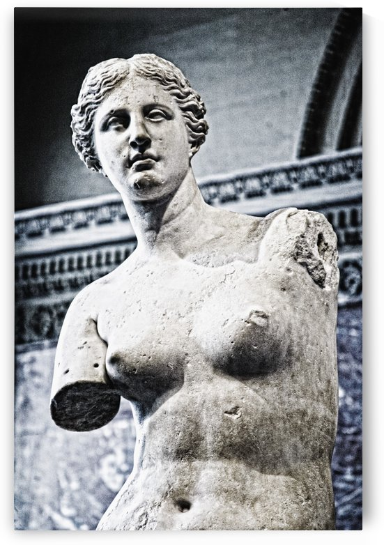 Louvre, Paris, France; Statue Or Venus De Milo by PacificStock