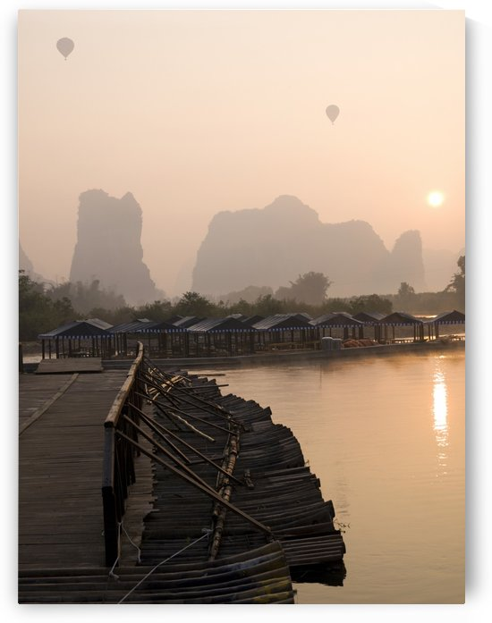 Yulong River, Guangxi, Zhuang Province, China by PacificStock