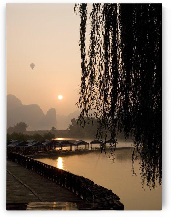 Yulong River, Guangxi, Zhuang Province, China by PacificStock