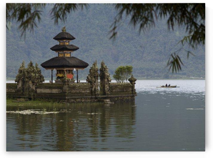 Bali, Indonesia; Ulun Danu Temple On Beratan Lake by PacificStock