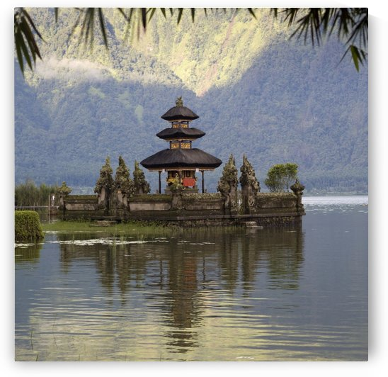 Bali, Indonesia; Ulun Danu Temple On Beratan Lake by PacificStock