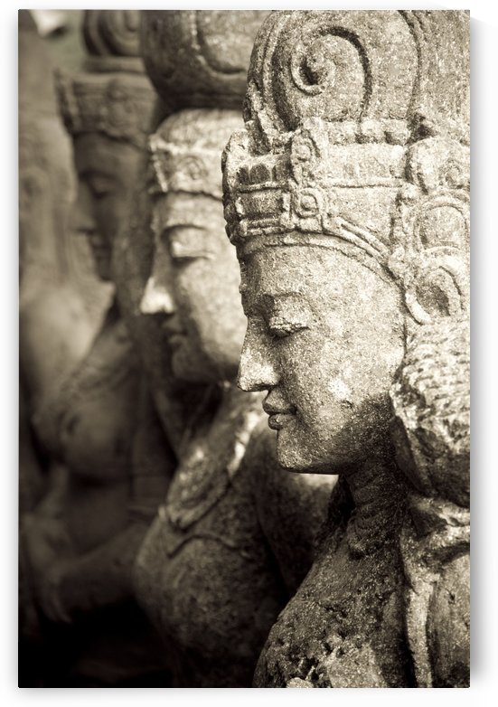 Bali, Indonesia, Asia; Stone Statues by PacificStock
