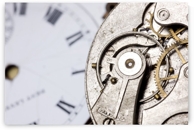 Close-Up Of Timepiece by PacificStock