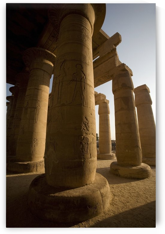 The Ramesseum, Luxor, Egypt by PacificStock