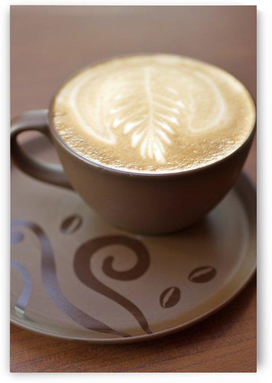 Beverage; Design In Cappucino Foam by PacificStock