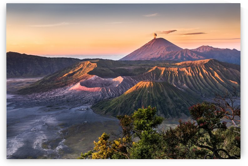 Mount Bromo at Sunrise by Andreas Wonisch