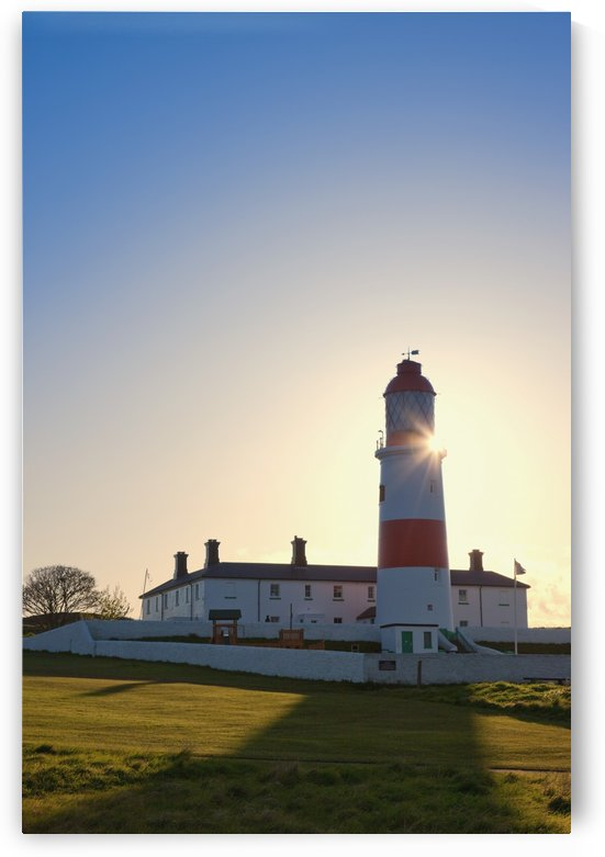 Lighthouse, South Shields, Tyne And Wear, England by PacificStock