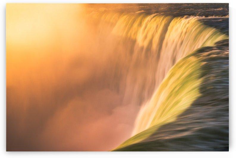 Niagara Falls at Sunrise by Andreas Wonisch