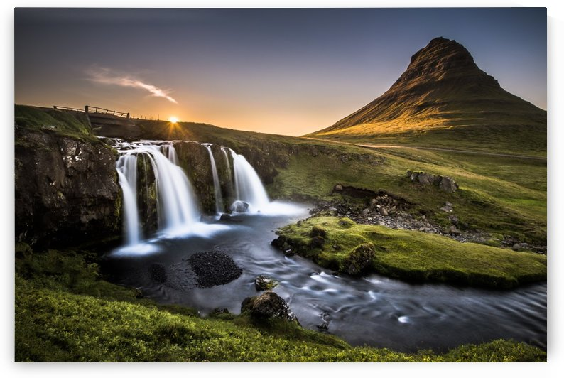 Fairy-Tale Countryside in Iceland by Andreas Wonisch
