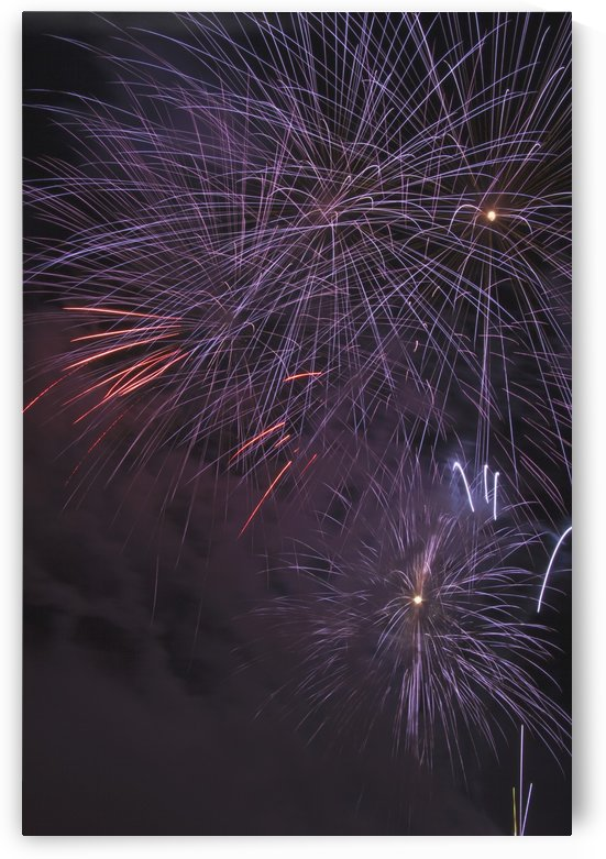 Fireworks, Crowsnest Pass, Alberta, Canada by PacificStock