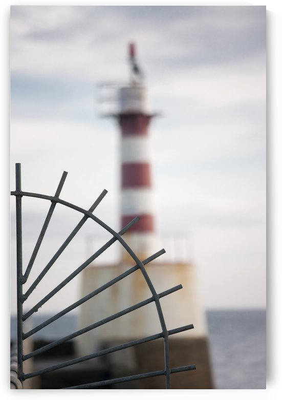 Amble, Northumberland, England; Lighthouse On The Coast by PacificStock