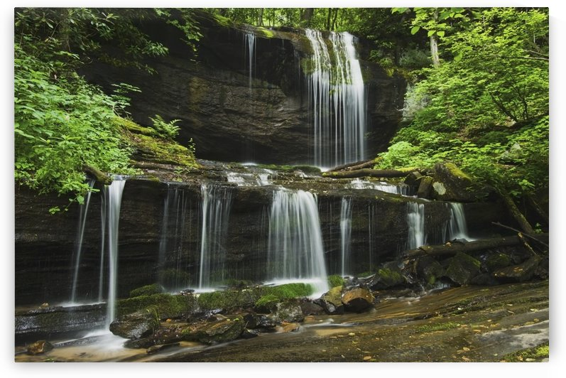 North Carolina, United States Of America; Grassy Creek Falls by PacificStock