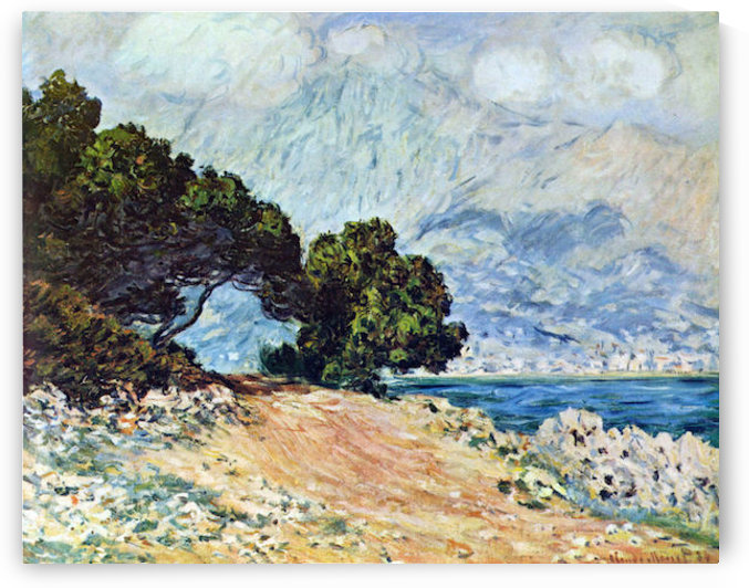 Cape Martin in Menton by Monet by Monet