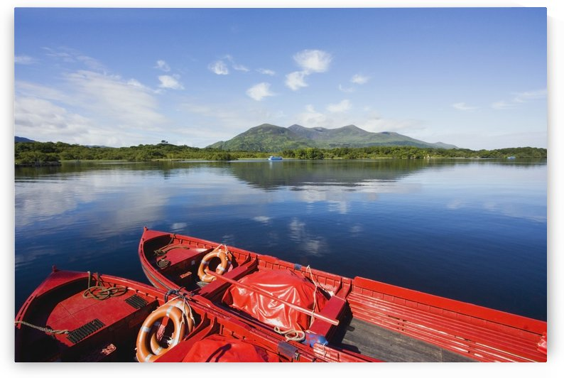 Killarney, County Kerry, Munster, Ireland; Two Boats In The Water by PacificStock