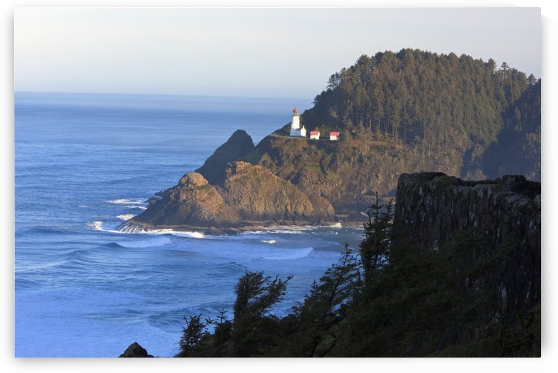 Oregon, United States Of America; Heceta Head Lighthouse Along The Coast Of The Pacific Ocean by PacificStock