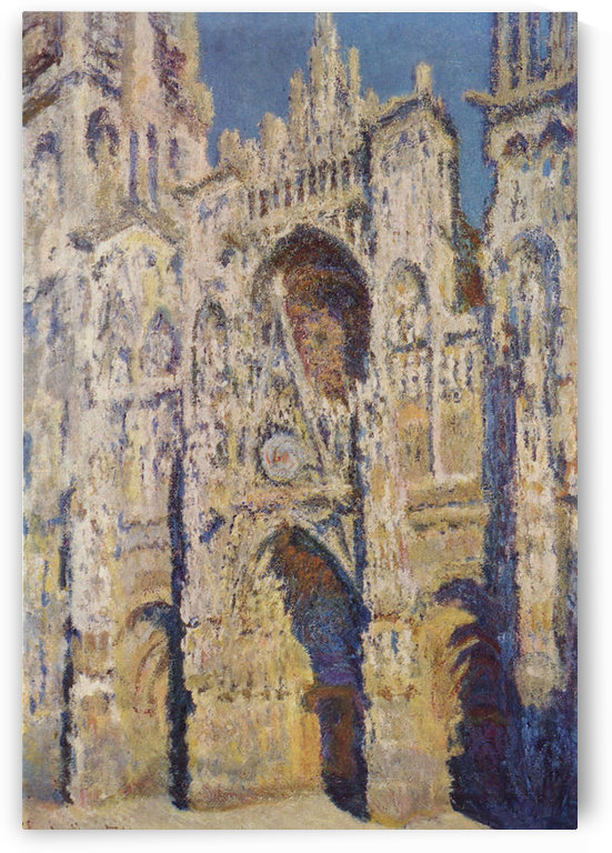Cathedral at Rouen by Monet by Monet
