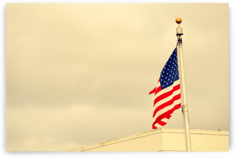 American Flag by Cameron Young
