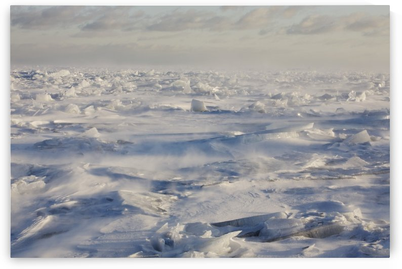 Minnesota, United States Of America; Ice Chards On The North Shores Of Lake Superior by PacificStock