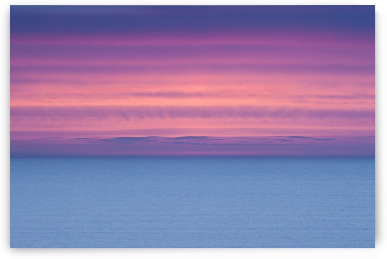 Dramatic Sky At Sunrise Over A Deserted Ocean; Ireland by PacificStock